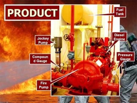 Jockey Compound Gauge Fire Pump Pressure Diesel Fuel Tank