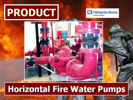 Horizontal Fire Water Pumps