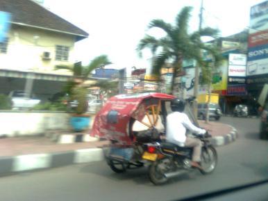 Medan Belawan, Serpong : Pergi - Pulang