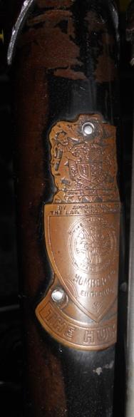HUMBER UK 24 Seri FA 61833