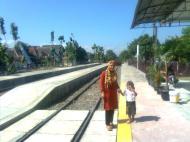 Stasiun Kereta Api Sukoharjo Jawa Tengah